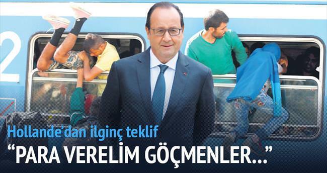 'Türkiye'ye yardımı müzakere edelim'