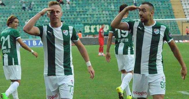 İşte Bursaspor'un Fenerbahçe 11'i