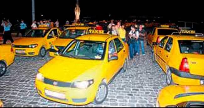 Taksi ücretine zam