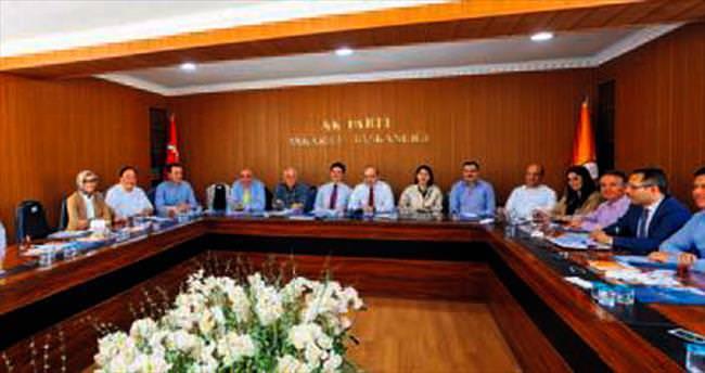 AK Parti ilk seçim toplantısını yaptı