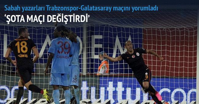 Usta yazarlar Trabzonspor-Galatasaray maçını yorumladı