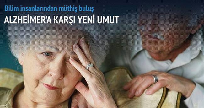 Alzheimer'a karşı umut veren tedavi