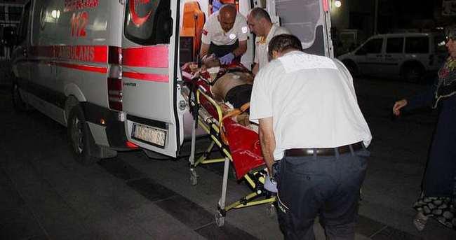 Yeğeni tarafından evinin önünde vuruldu