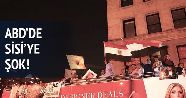 Sisi'ye New York'ta protesto