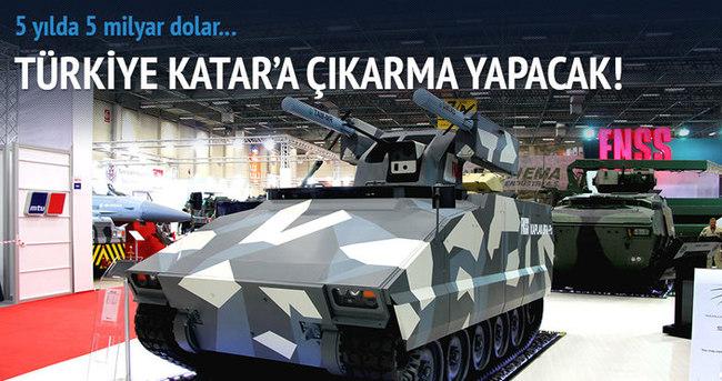 Türk savunma sanayisi Katar'a çıkarma yapacak