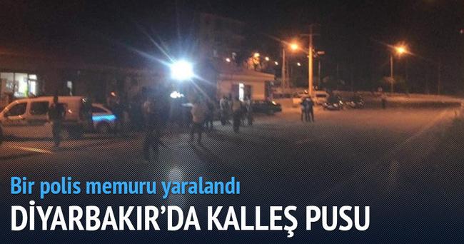 PKK'dan kalleş saldırı: Bir polis yaralı