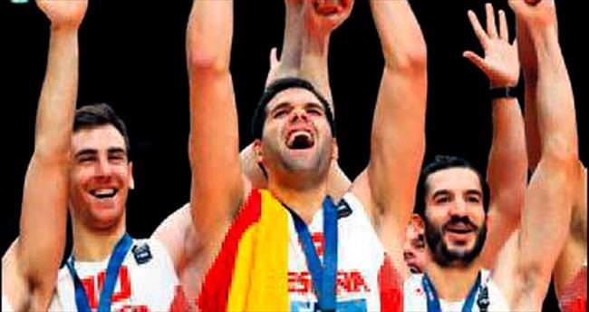 İspanya bileğinin hakkıyla şampiyon