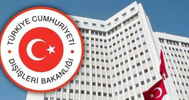 Dışişleri Bakanlığı'ndan o saldırıya kınama