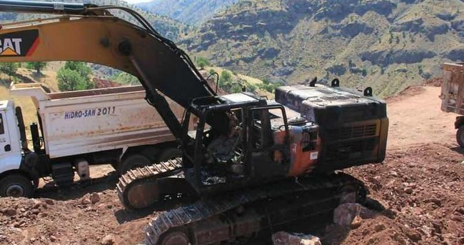 PKK baraj enerjilerine darbe vurdu!