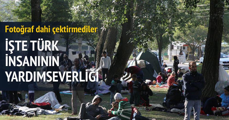 İşte Türk insanının yardımseverliği