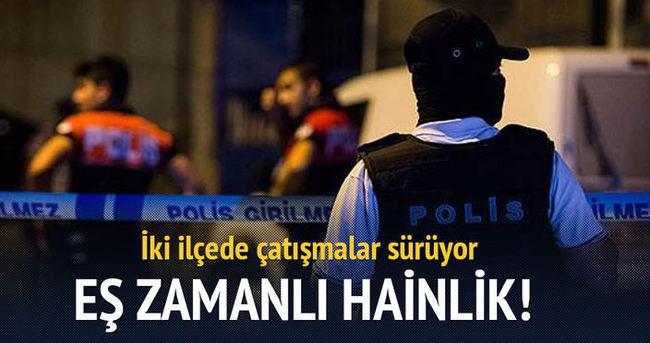 Diyarbakır ve Şırnak'ta çatışma!