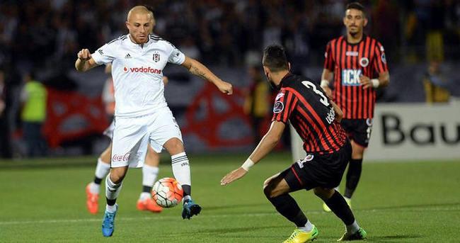 Beşiktaş'ın 3 bininci golü Gökhan Töre'den