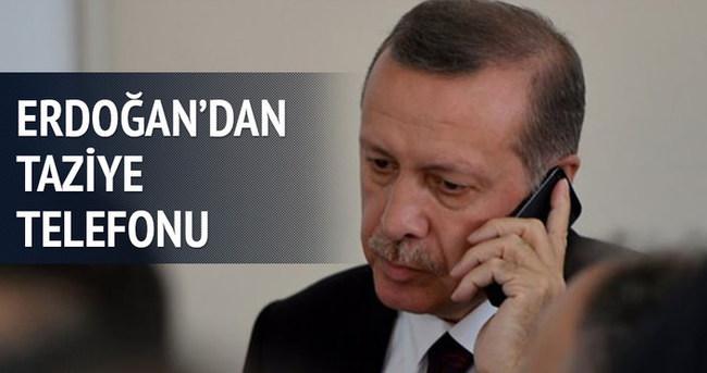 Cumhurbaşkanı Erdoğan'dan, Al Maktum'a taziye telefonu