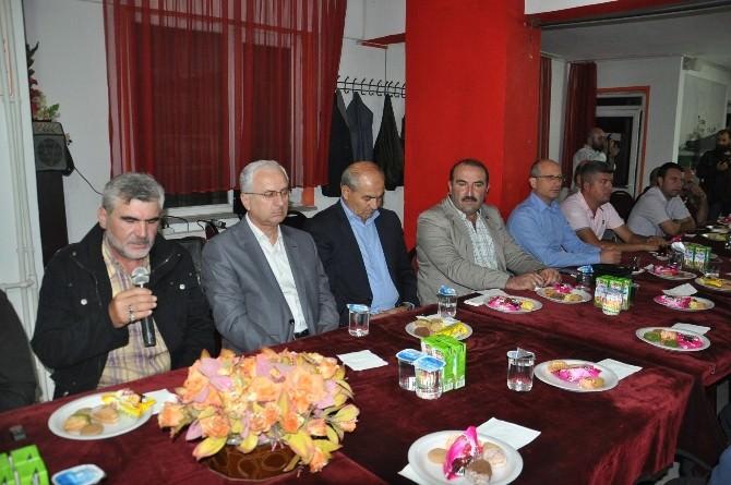 Çerkezköy'de Şehitler İçin Mevlit Okutuldu