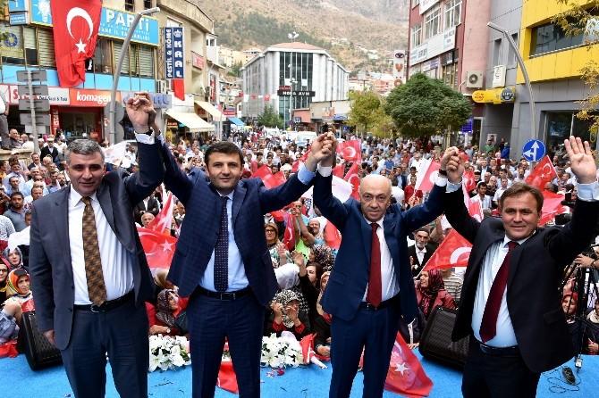 Gümüşhane'de AK Parti Adayları Sahaya İndi
