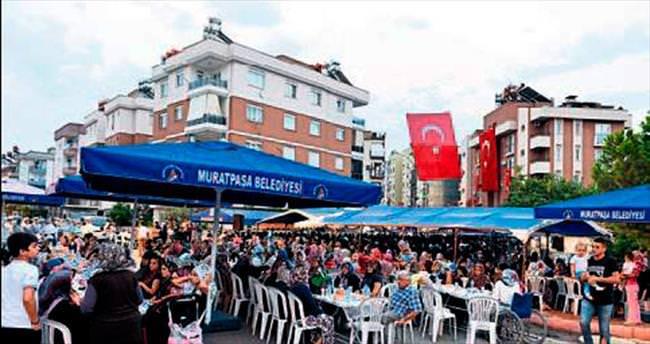 Muratpaşa'dan şehide mevlit