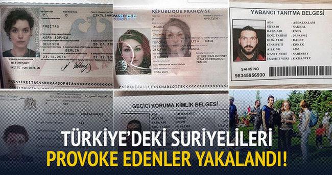 Suriyelileri provoke edenler yabancı!