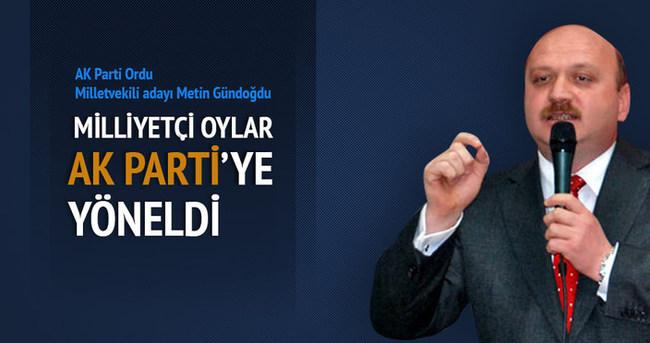 Milliyetçi oylar Ak Parti'ye yöneldi