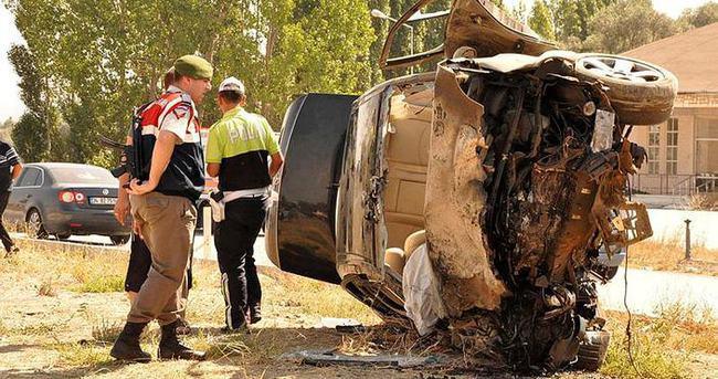 Yozgat'ta trafik kazası: 4 ölü!