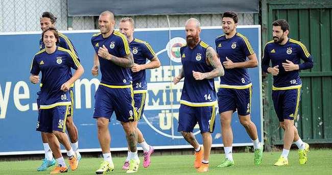 Fenerbahçe'de Beşiktaş mesaisi başladı