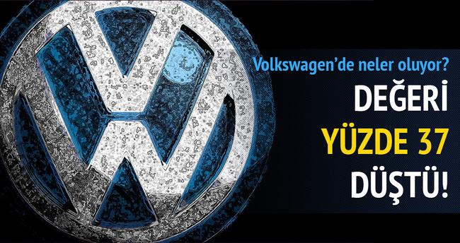 Volkswagen'de neler oluyor?