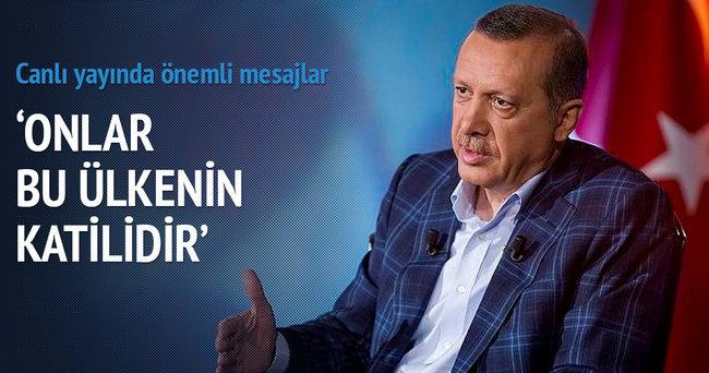 Cumhurbaşkanı Erdoğan: Onlar bu ülkenin katilidir