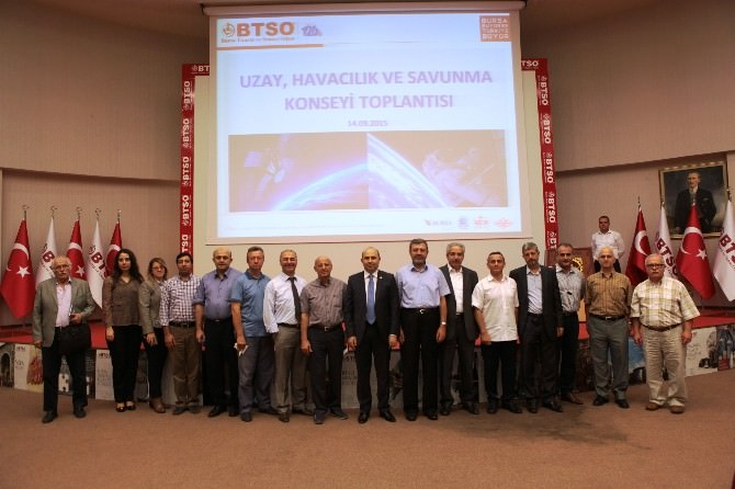 BTSO Uzay, Havacılık Ve Savunma Konseyi Dernek Kuruyor