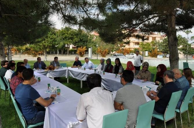 Sami Güçlü NEÜ'de Konya Akif Okumalarını Başlattı