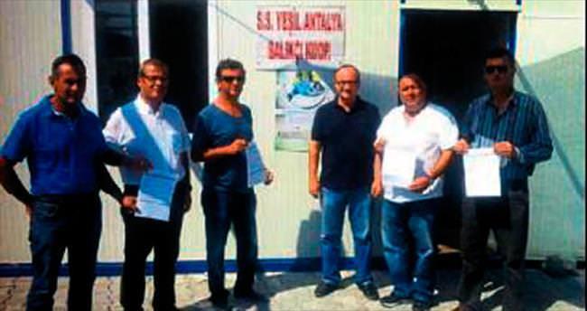 Balıkçılar da temiz deniz için adım attı