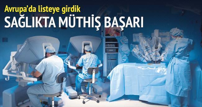 Robotik cerrahide Avrupa 4'üncüsüyüz