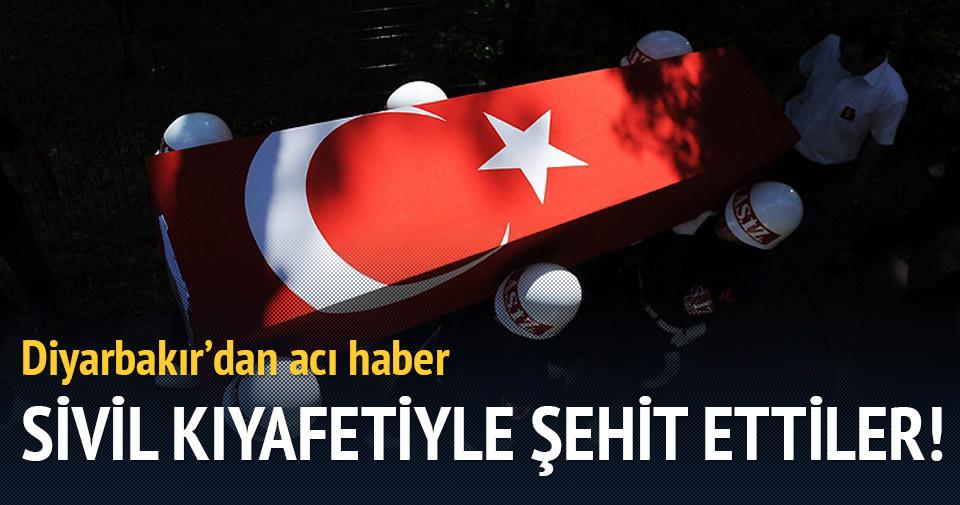 Diyarbakır'dan acı haber: 1 şehit