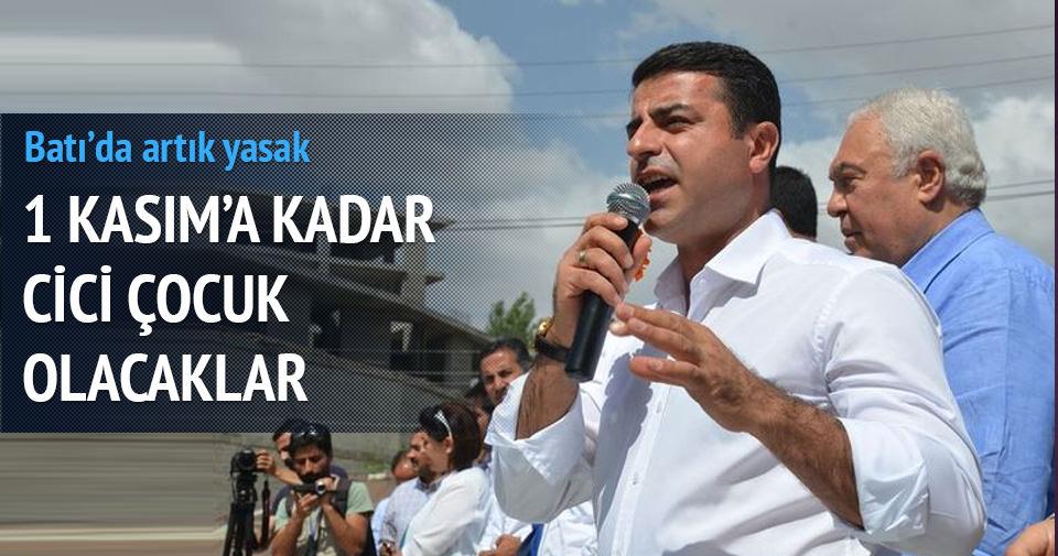 HDP seçim öncesi Batı illerinde bayrak kullanmayacak