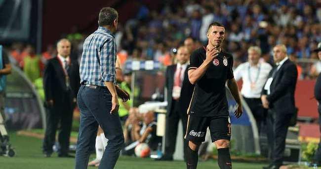 Podolski: En sevdiğim bölge forvet
