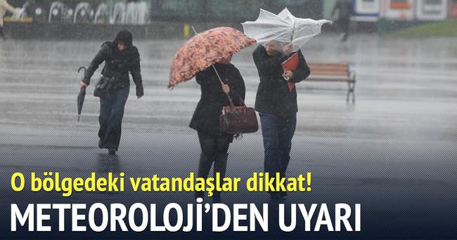 Marmara'nın batısında kuvvetli yağış bekleniyor
