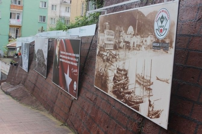 Giresun Sokaklarını Tablolar Süslüyor