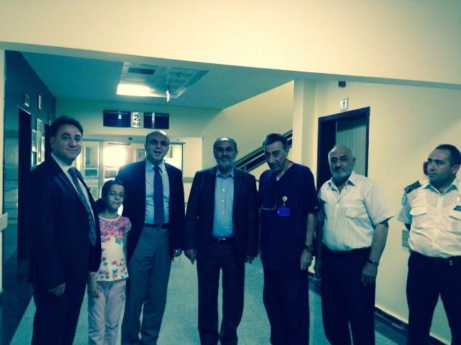 Kapusuz'dan Kayseri'deki Sağlık Hizmetlerine Övgü