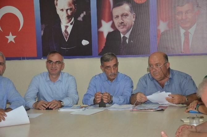 AK Parti İlçe Başkanı Bostancı İle Başkan Yılmazer Birlik Mesajı Verdi