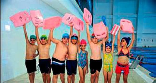 Kepez'de herkes yüzdü