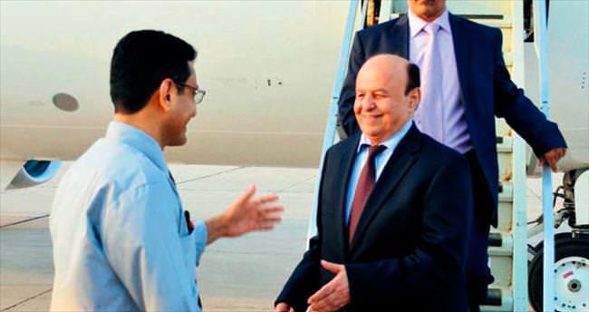 Yemen Cumhurbaşkanı 6 ay sonra ülkesinde