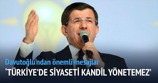 Türkiye'de siyaseti Kandil yönetemez