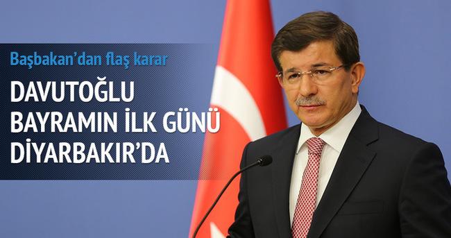 Başbakan Diyarbakır'da