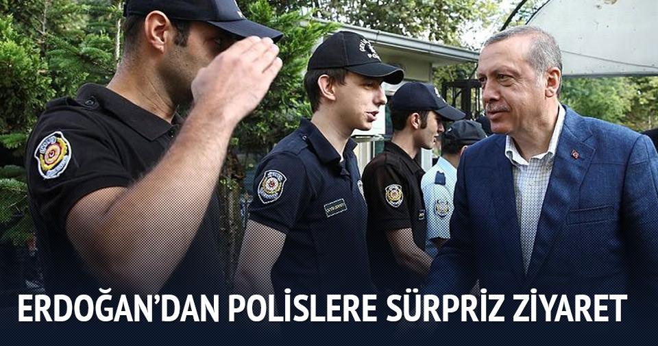 Erdoğan'dan polislere bayram ziyareti!