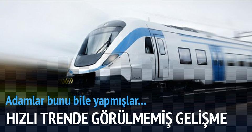 Hızlı Treni rüzgarla yürütecek