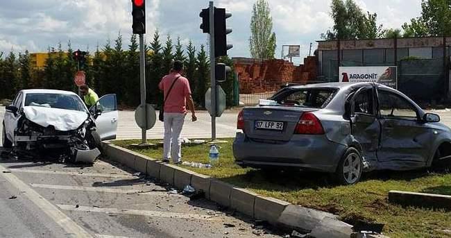 Kaza yapan sürücülerden ilginç savunma!