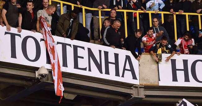Tottenham Hotspur-Arsenal maçında 10 gözaltı
