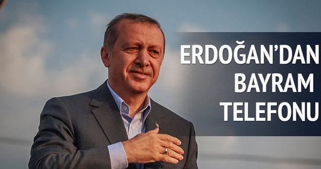 Erdoğan'dan bayram telefonu
