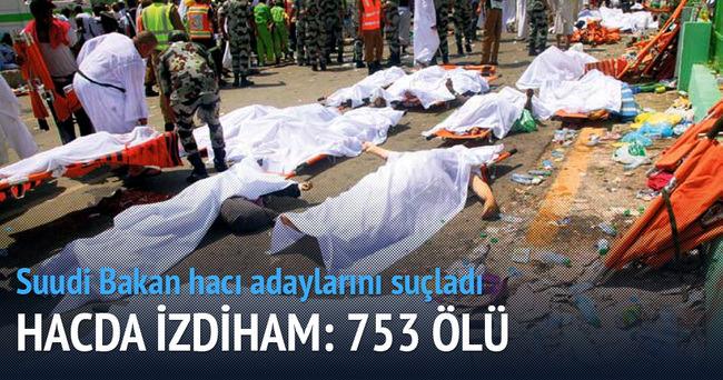 Hacda en ölümcül ikinci facia izdiham: 753 ölü