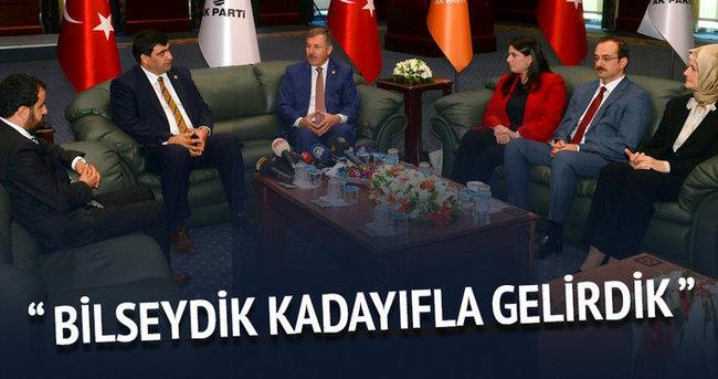 AK Parti'de bayramlaşma