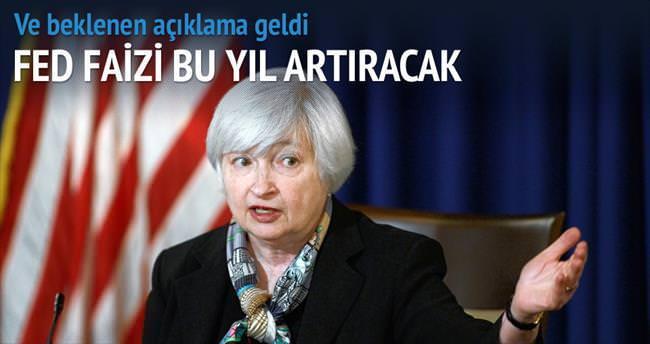 Fed faizi bu yıl artıracak