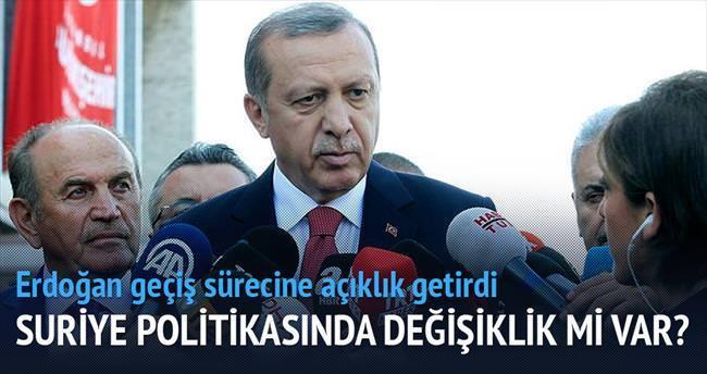 Türkiye'nin Suriye'ye yaklaşımı değişmedi